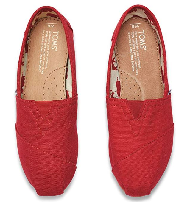 womens casual red shoes