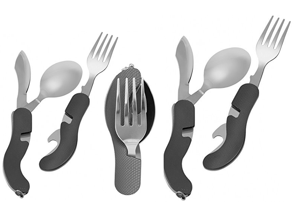 Convenient Foldable Camping Cutlery Set