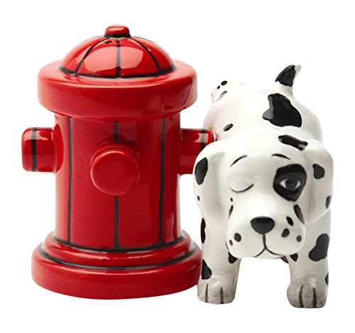 cool salt and pepper shakers, dalmation kitchenware, kitchen ideas, kitchen gadgets,