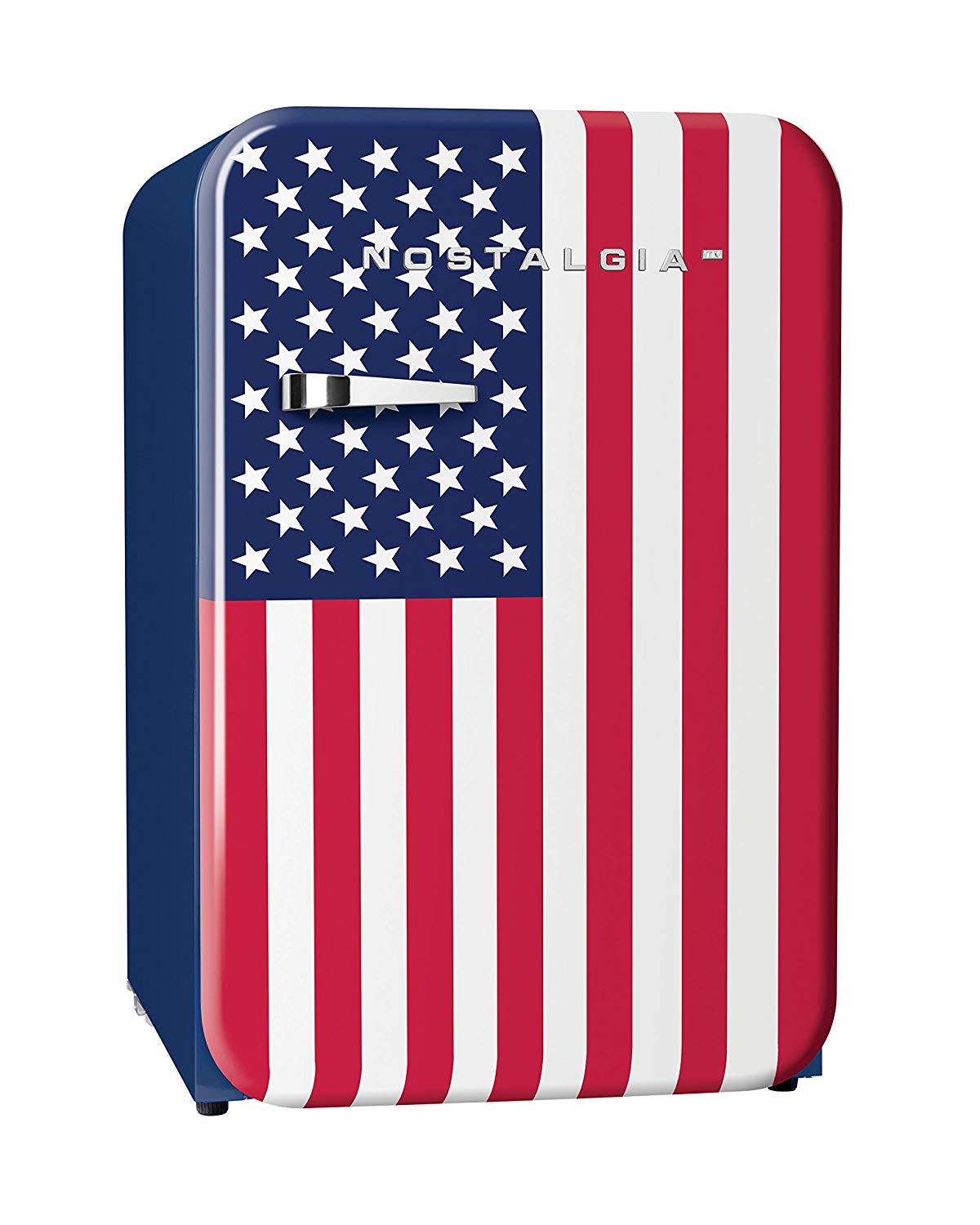 USA flag fridge