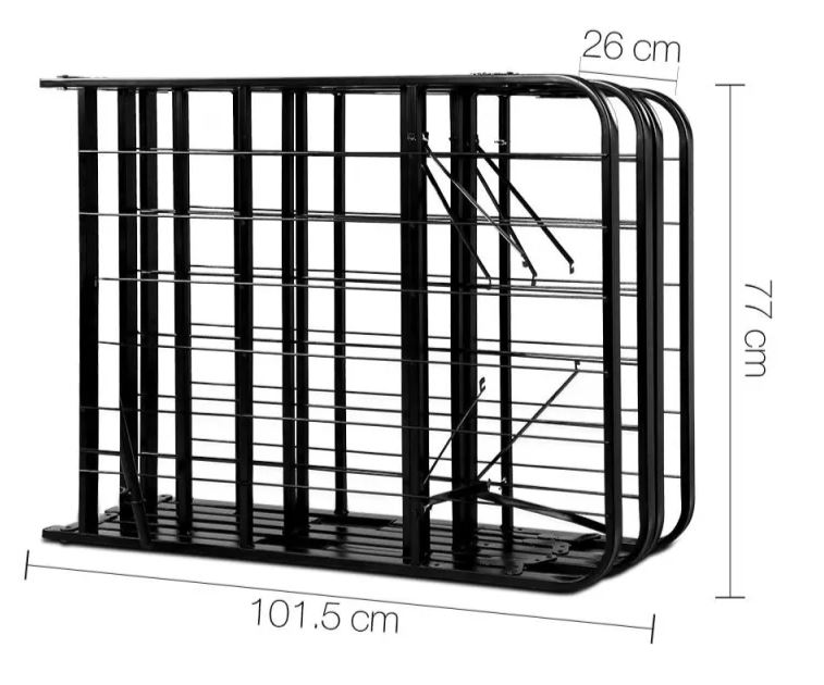 folding queen bed frame