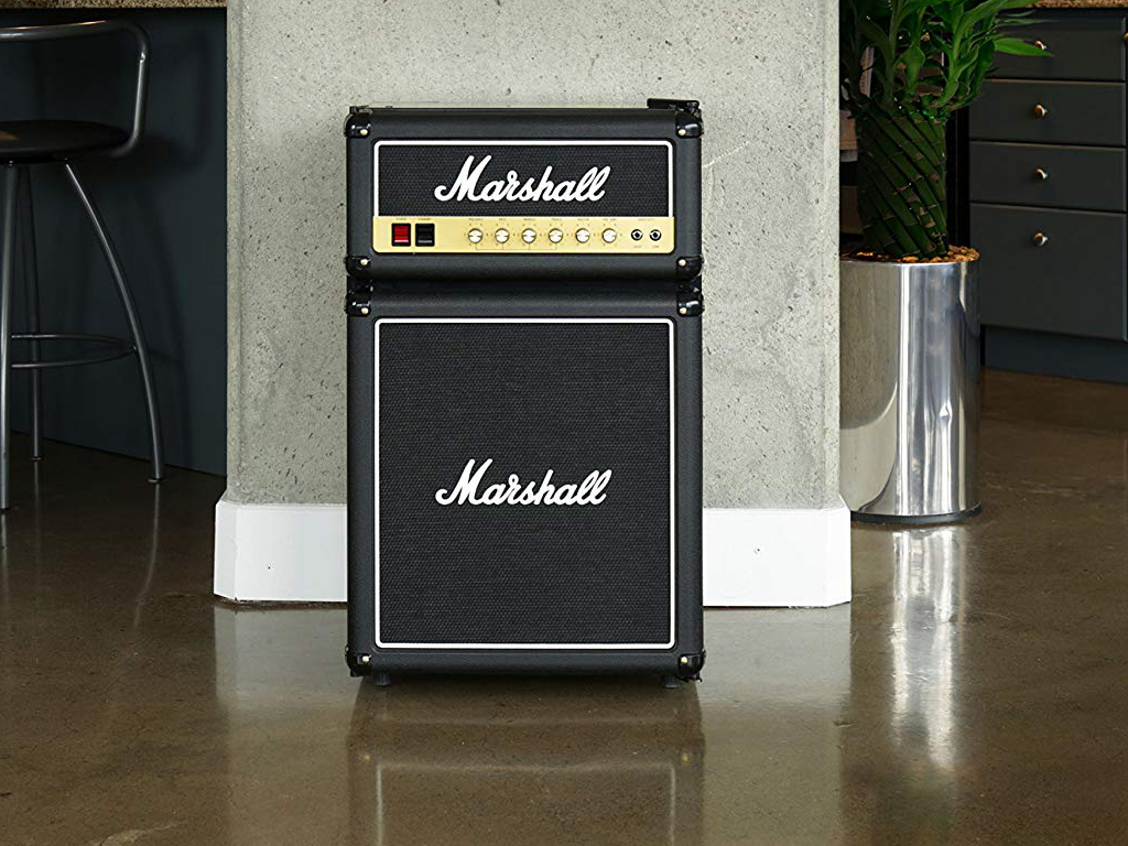 Marshall Bar Fridge is Cool and Different
