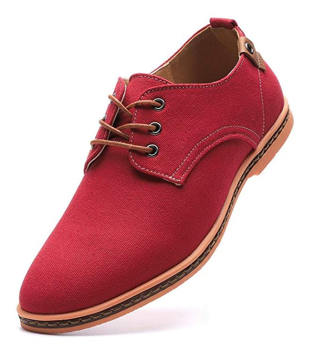 classic oxfords red