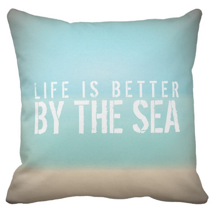 seaside cushion