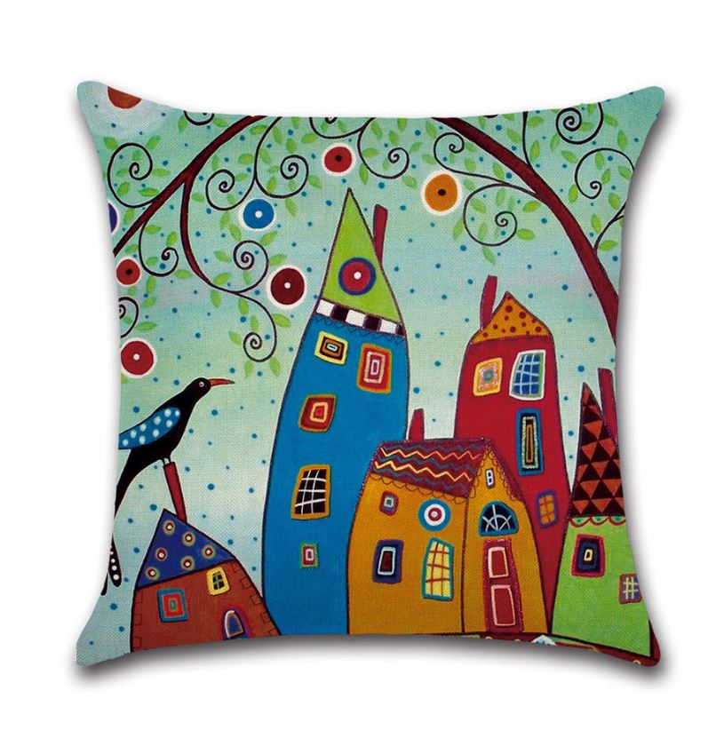 eutropean bright cushion