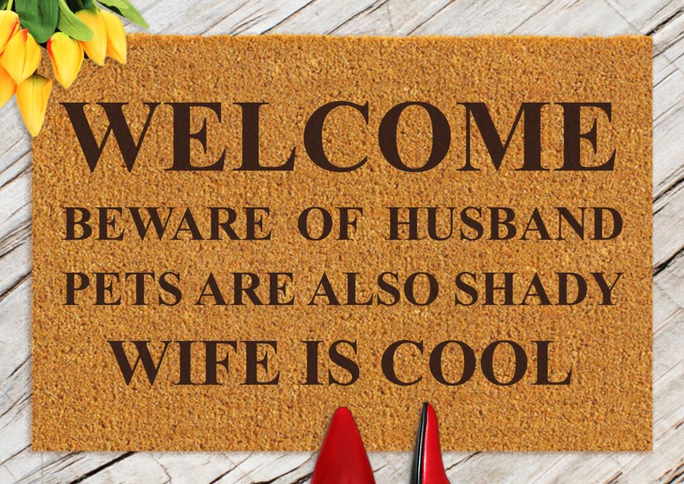 Funny Doormats To Welcome Guests