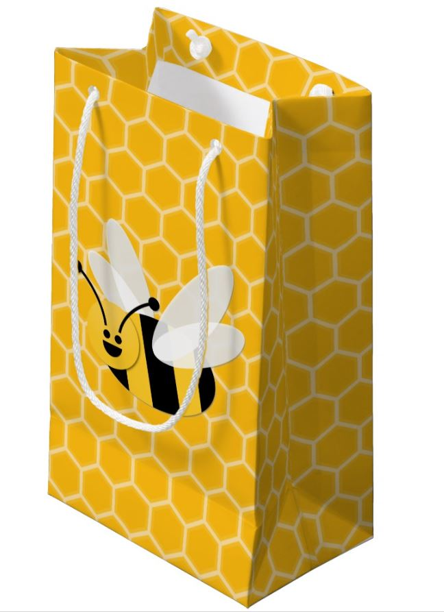 honey bee gift bag