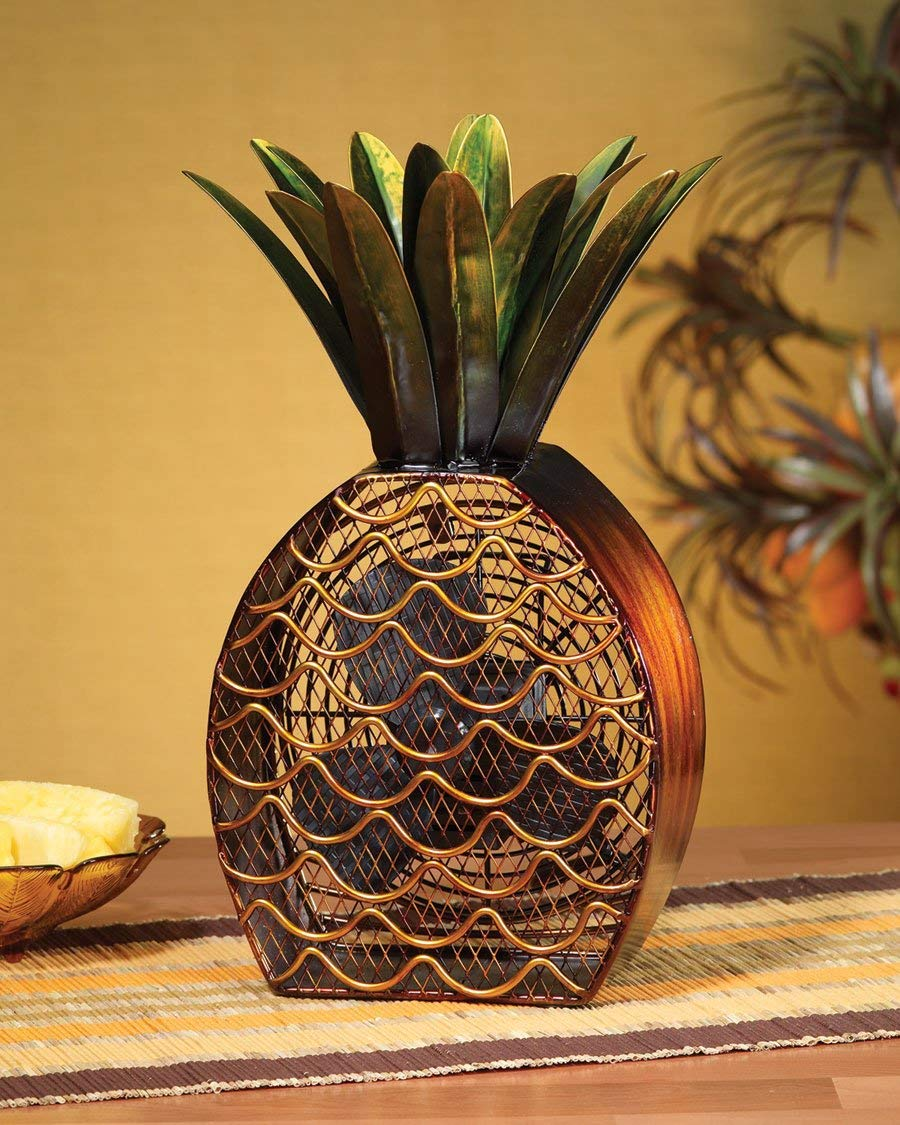 pineapple desk fan