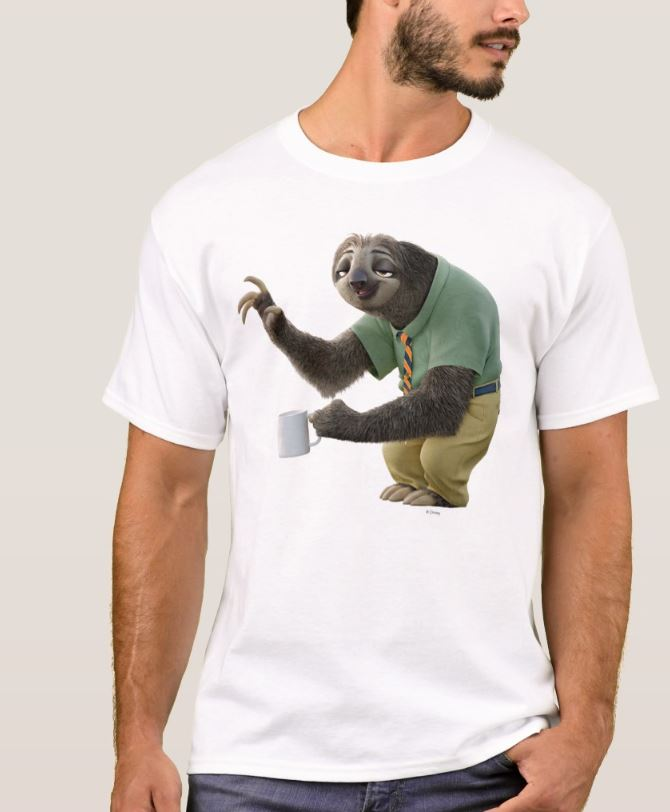 Impressive and Cool Sloth T-Shirts