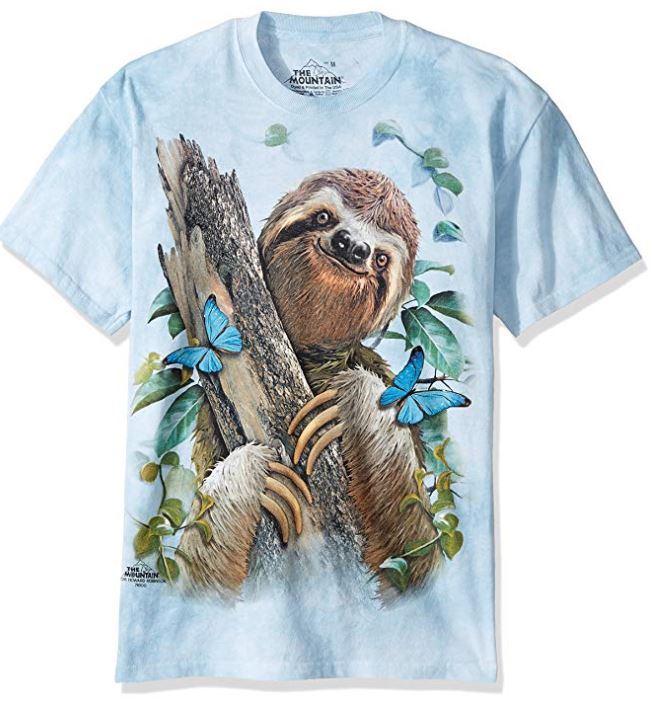 pretty sloth shirt