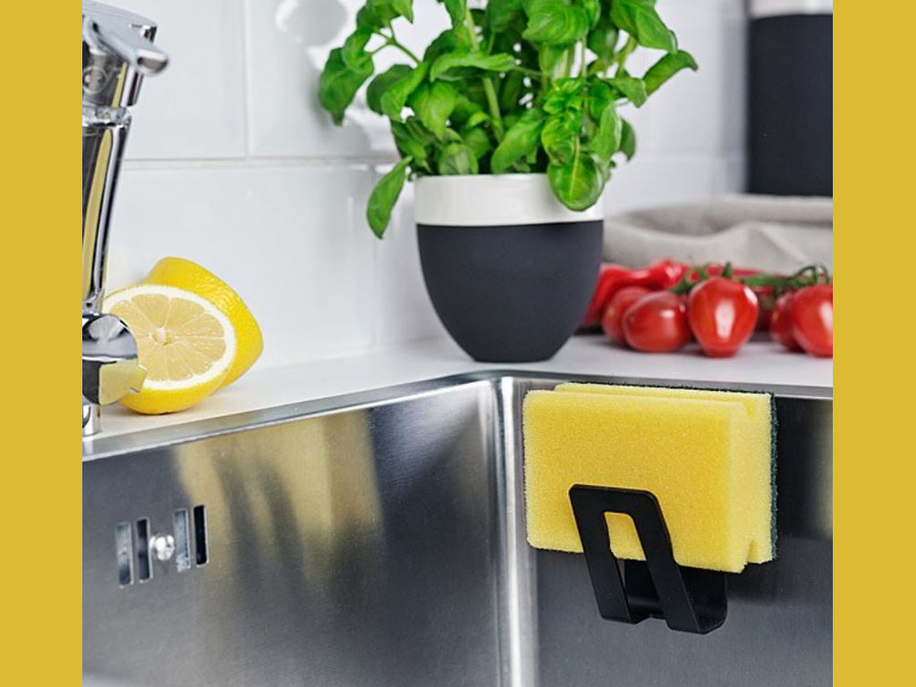 Clever and Useful Magnetic Sponge Holder