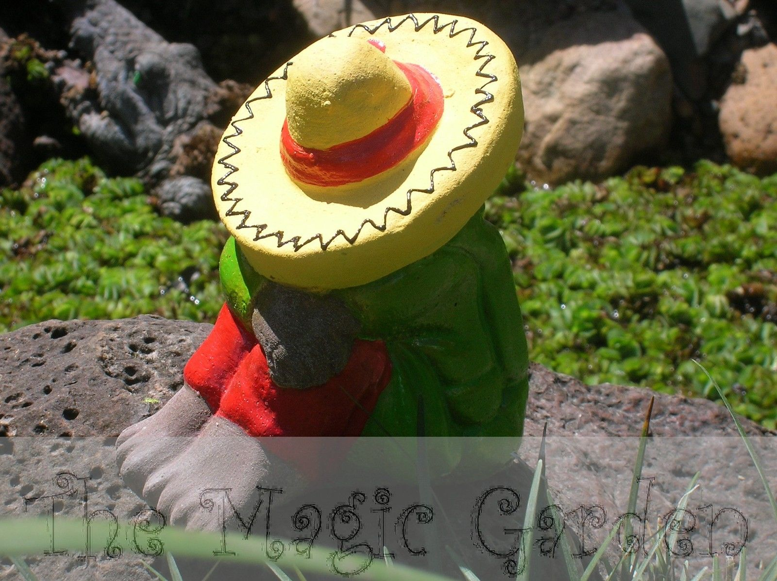 mexican garden ornament