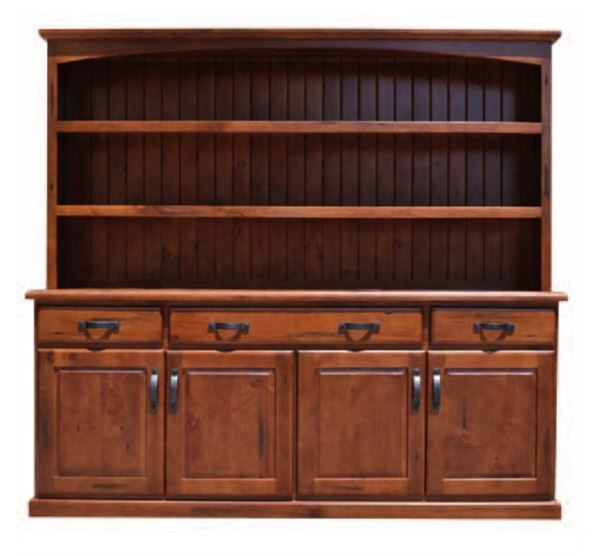 Timber Wooden Hutch Cabinet