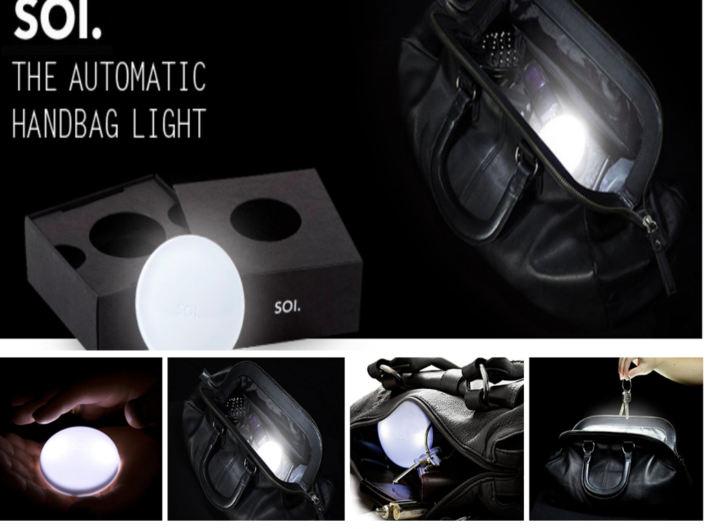 Amazingly Useful Automatic Handbag Light