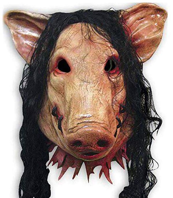pig face Halloween mask