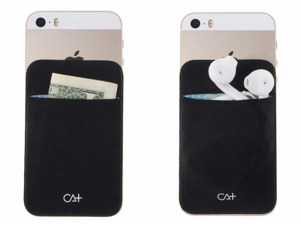 Stick On Smartphone Credit Card Holder