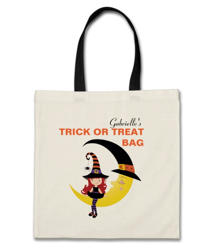 halloween witch bag