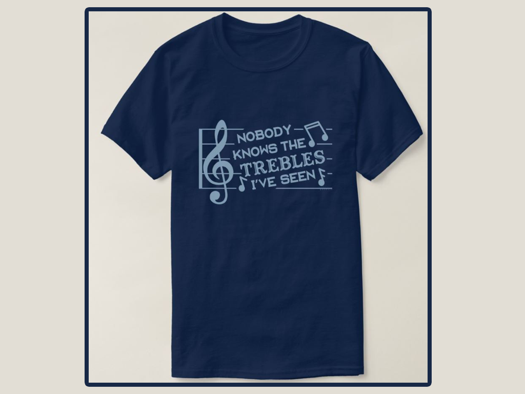Funny And Cool Musical Pun Joke T-Shirt