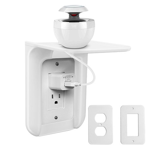 Extremely Convenient Wall Outlet Shelf