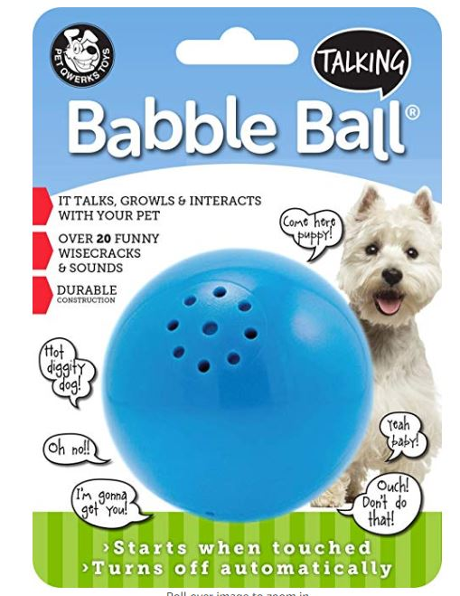 funny dog ball