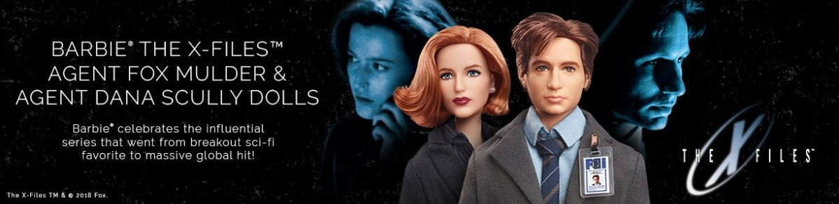 x files barbies