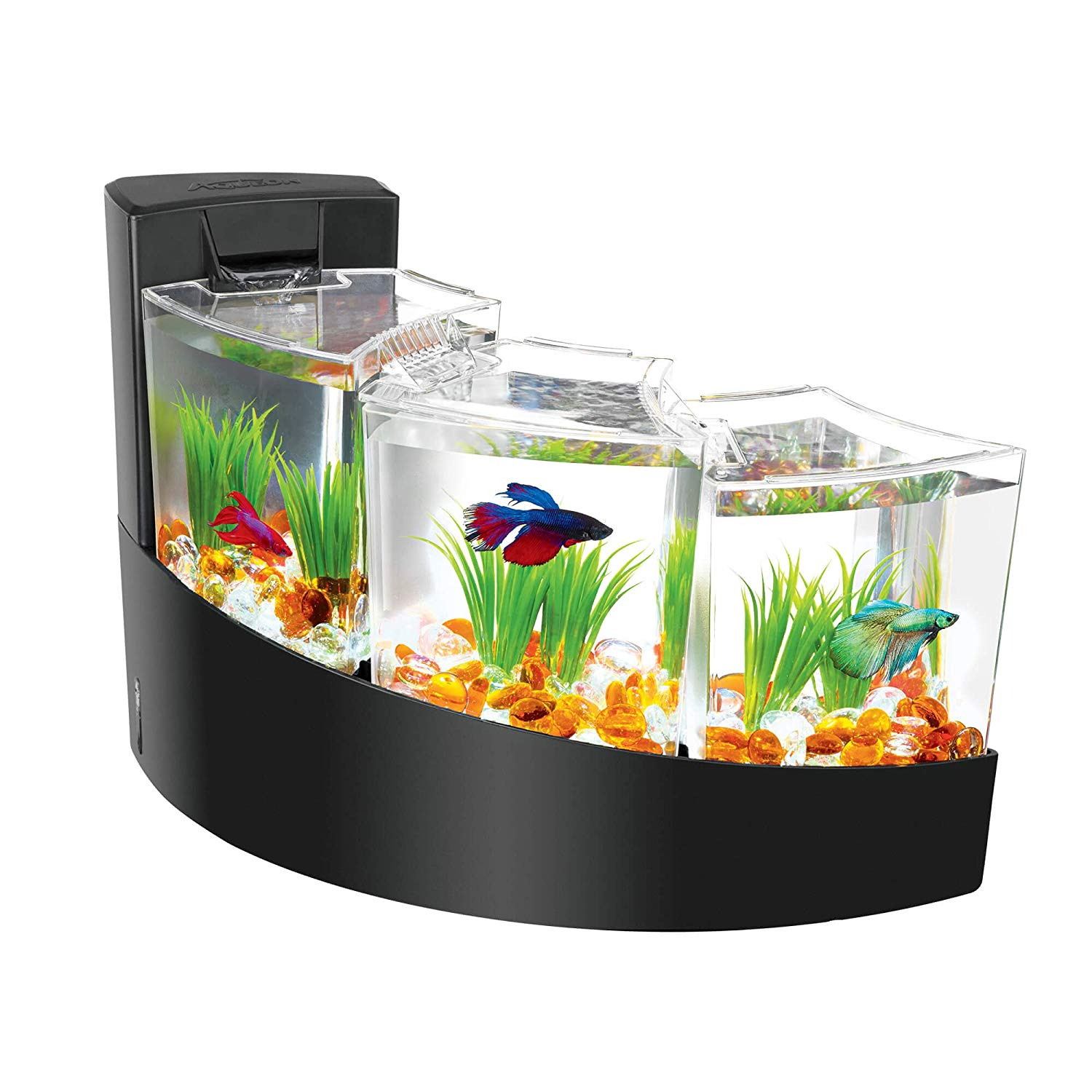 Aqueon Betta Falls Fish Tank Kit