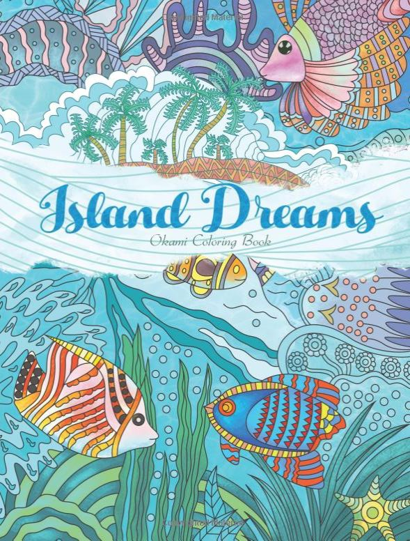 island coloring book