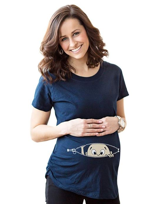 cute maternity shirt