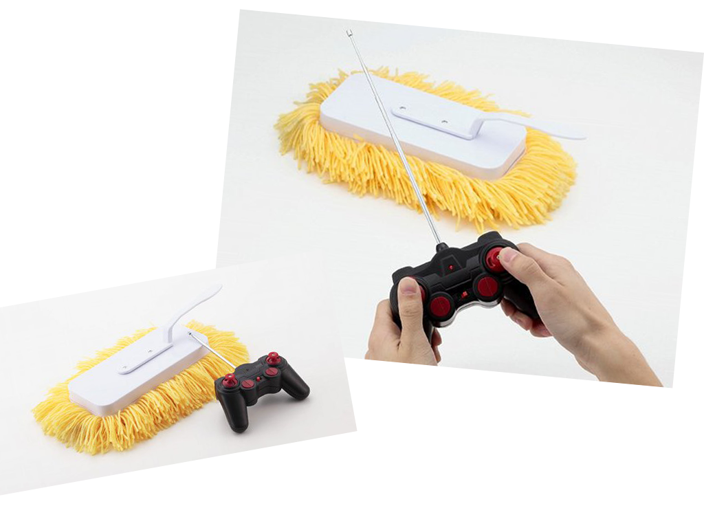 Remote Controlled Cleaning Brush