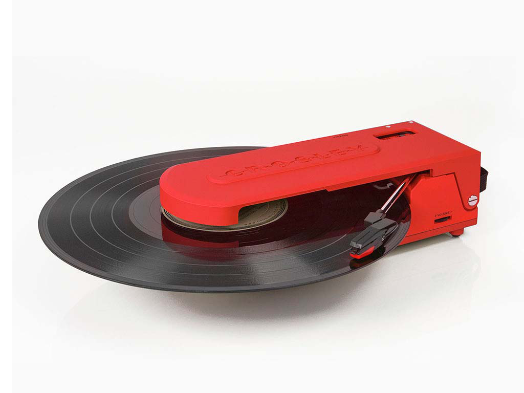 Innovative Portable USB Powered Turntable