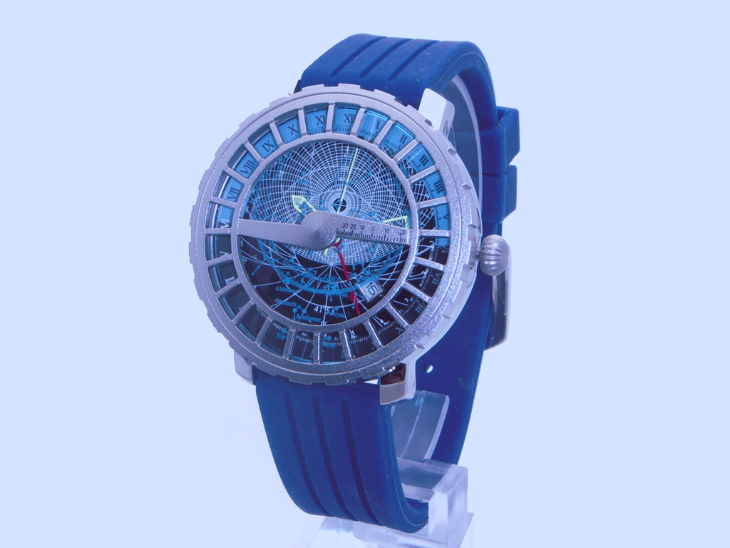 Water Resistant Astrolabe Wrist Watch