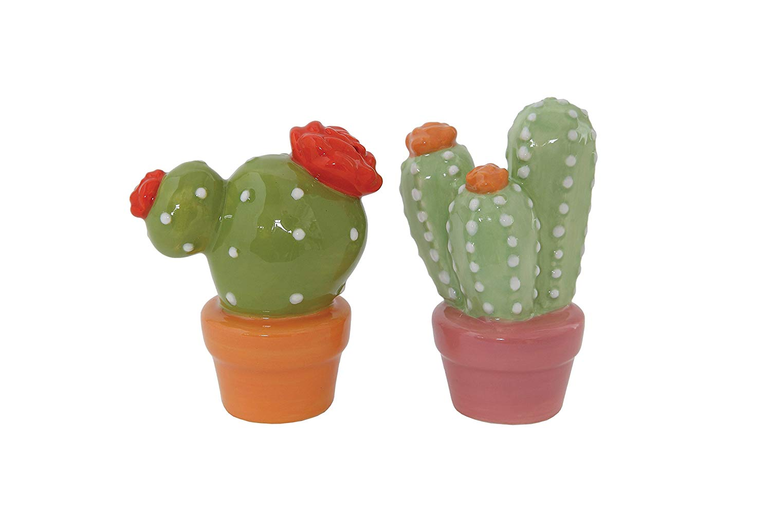 Cool Cactus Salt And Pepper Shakers
