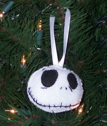 skeleton christmas ornament
