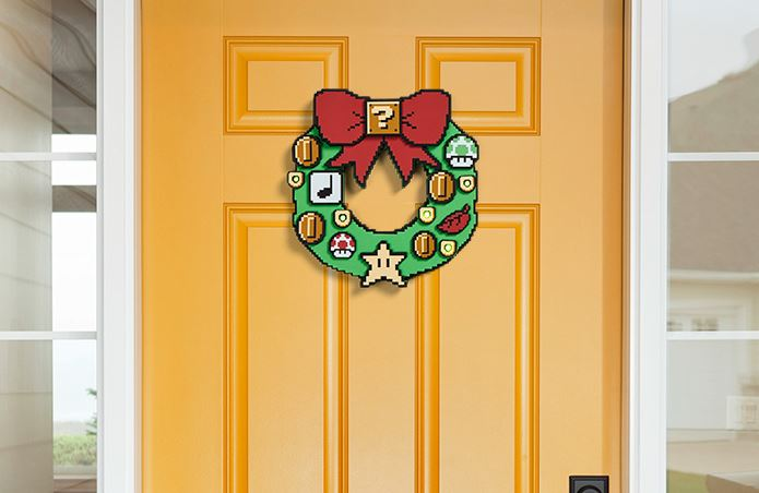 Cool Nintendo Super Mario Wreath