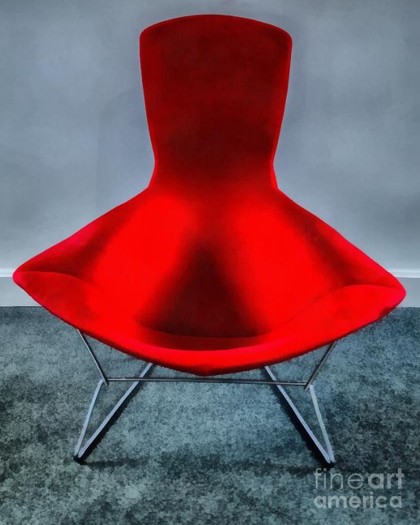 12 Creative and Inspirational Paintings Of Red Chairs