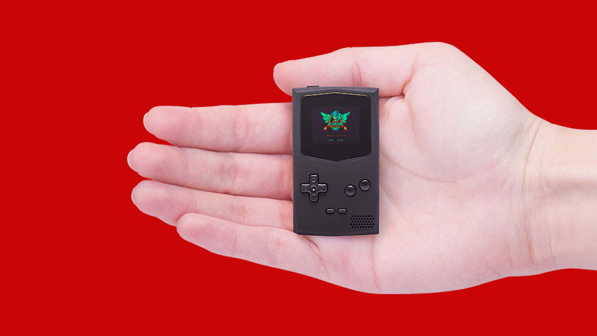 The World's Smallest Portable Game Boy