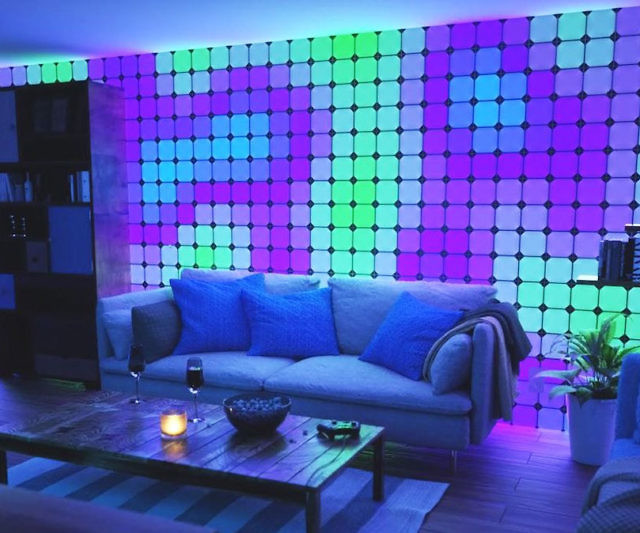 Nanoleaf Canvas Color Changing Light Panels