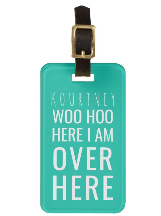 10 Cool Luggage Tags To Help You Identify Your Bag Quickly