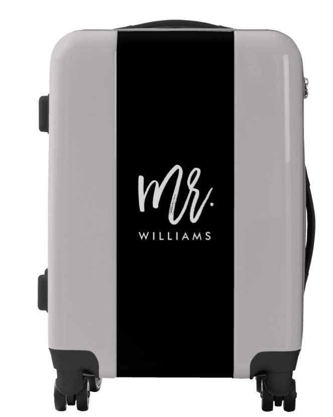 10 Very Cool Personalized Suitcases