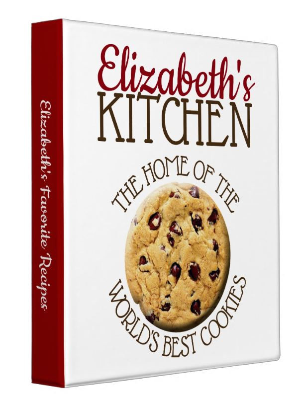 Store All Your Favorite Cookie Recipes In This Cookie Recipe Binder