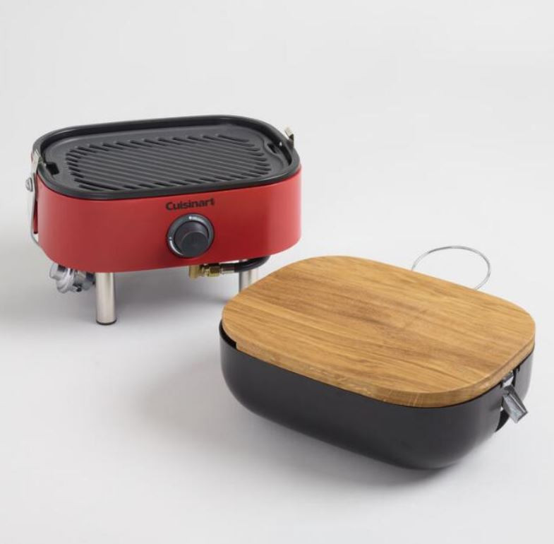 Portable Gas BBQ Grill For Camping, Picnics and More