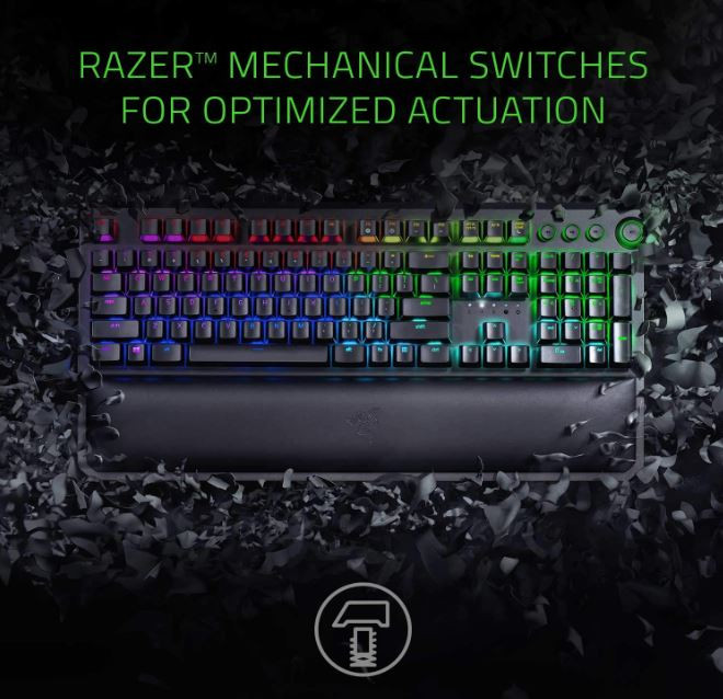 Ergonomic Tournament Grade Mechanical Keyboard