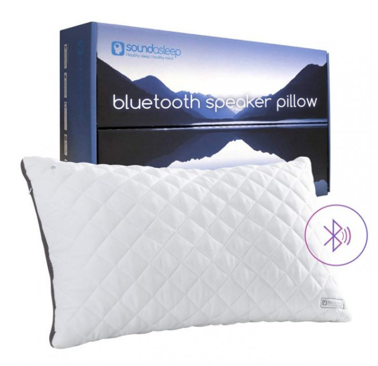 Bluetooth Speaker Pillow To Sing You To Sleep