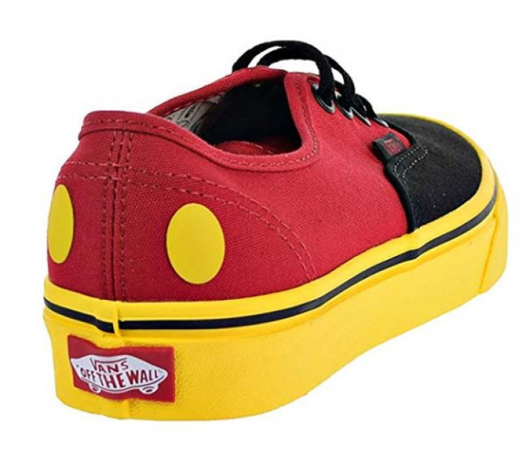 Authentic Disney Vans Mens Mickey Mouse Shoes