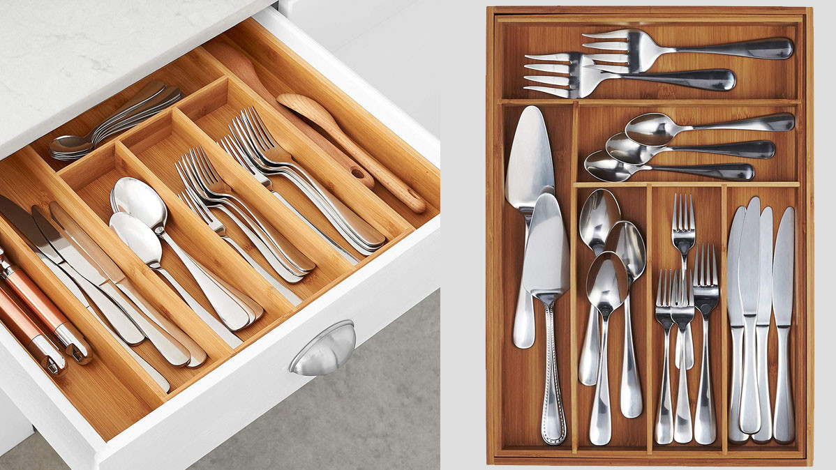 Expandable Kitchen Utensil Organizer
