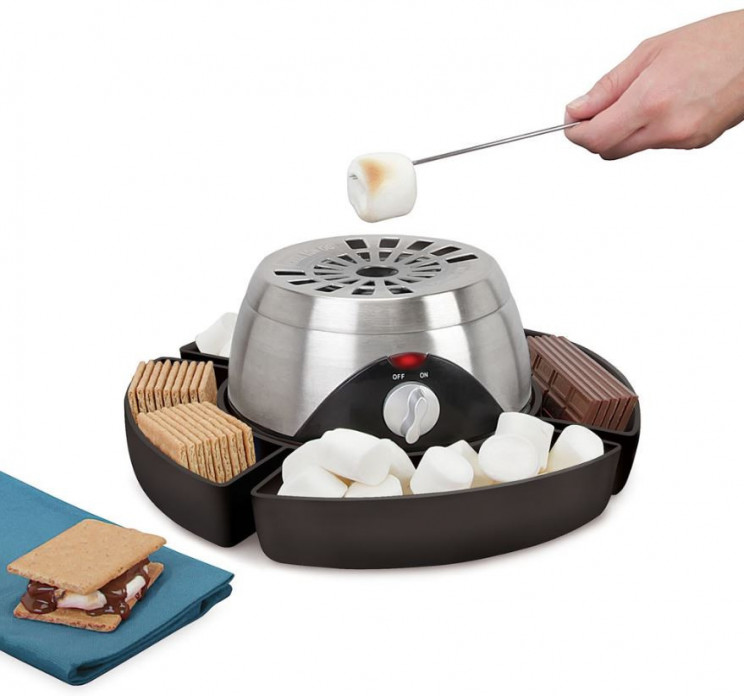 Convenient Flameless Indoor Marshmallow Toaster