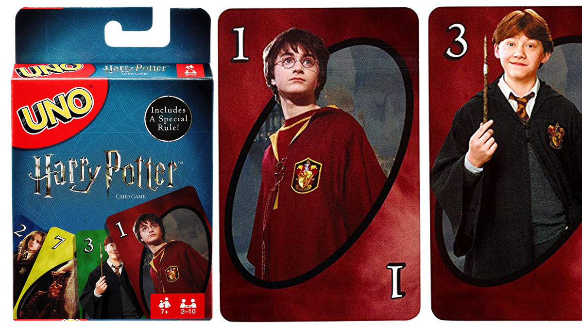 Cool Harry Potter UNO Card Game By Mattel