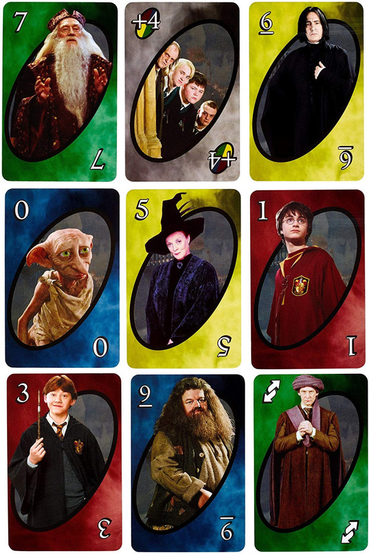 Harry Potter UNO card set