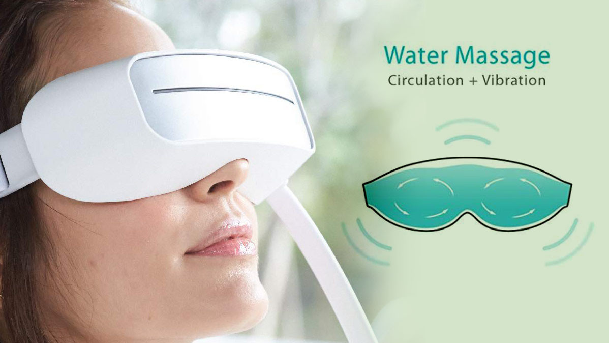 The World's First Water Propelled Vibrating Eye Massager