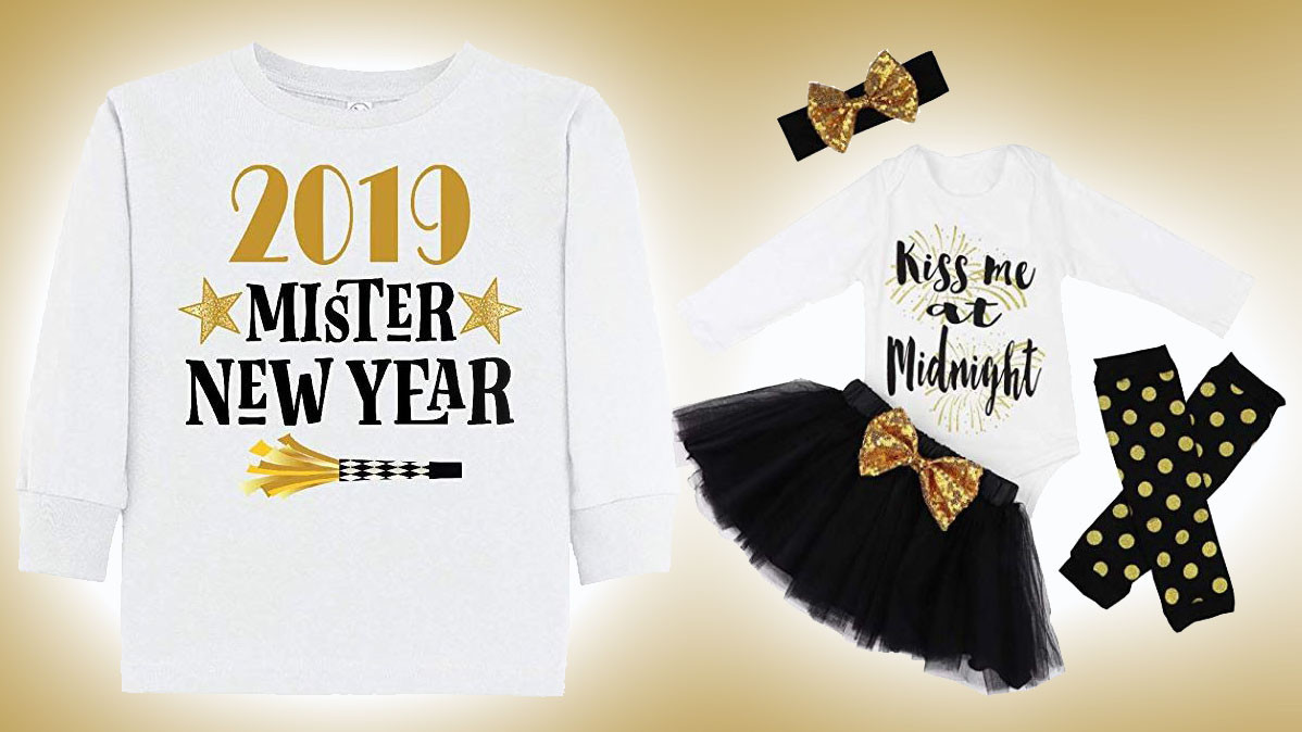 Cool New Years Eve Party Outfits For Children